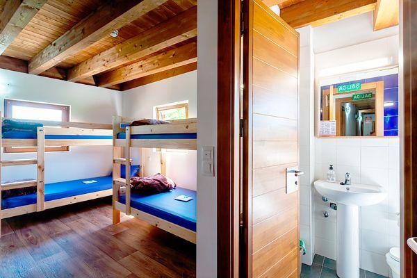 Dormitorios Albergue Fagus