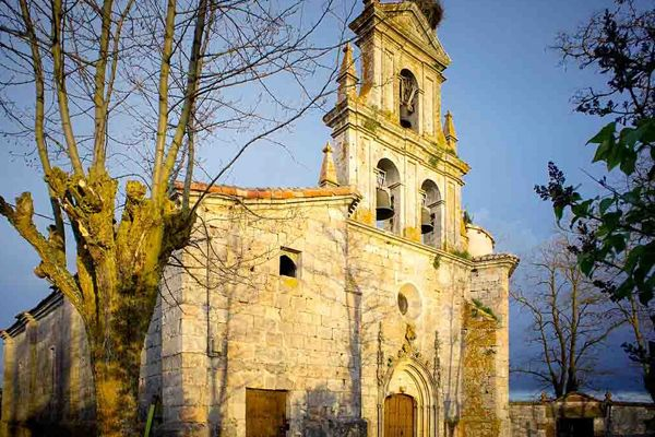 Iglesia Santa Eulalia Agés Burgos