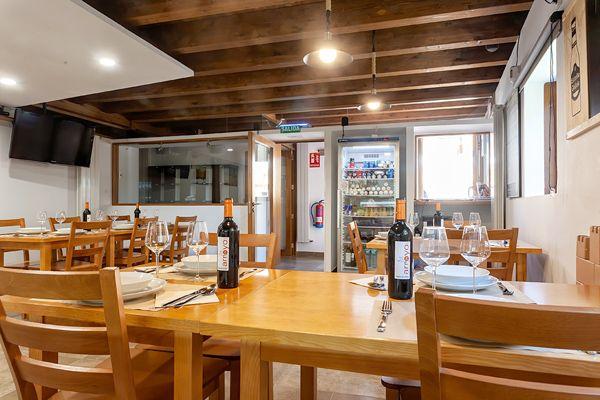 Sala Restaurante de Albergue Fagus